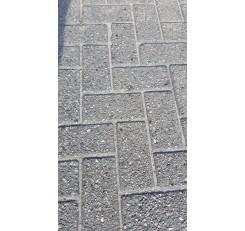 Betonklinkers Grijs  8 cm