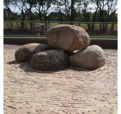 Veldkeien natuursteen 30 cm tot 150 cm groot